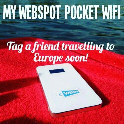 My Webspot Pocket WiFi
