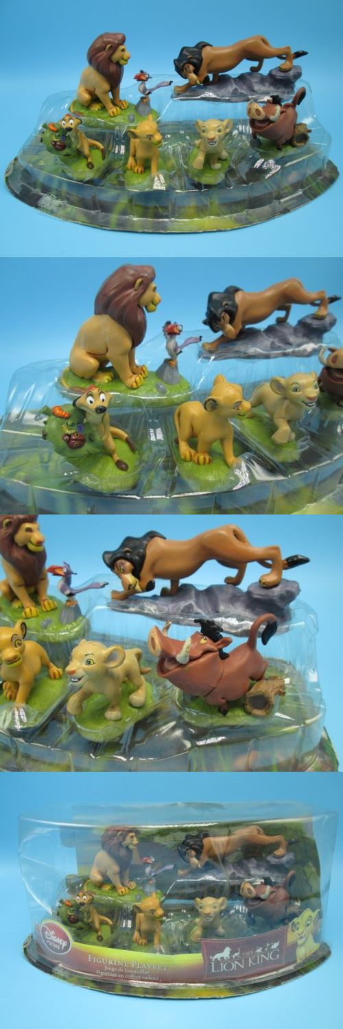 Lion King 44037: Disney Lion King Figurine Playset 6 Pc Mufasa Simba Nala Timon Pumbaa Scar Nos -> BUY IT NOW ONLY: $49.9 on eBay!