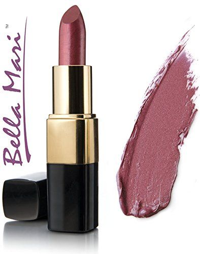 Bella Mari Natural Sentimental Shimmer Lipstick 4.5g. Free from petrochemicals. Cruelty-free, vegan and vegetarian. Free from synthetic dyes or flavoring. Phthalate free, paraben free, preservative free, Bismuth oxychloride free. Free from gluten, dairy, soy, corn, peanuts, tree nuts, carmine.