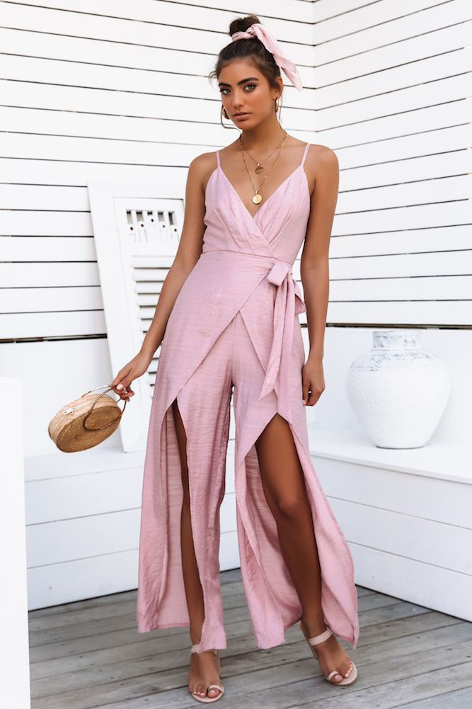 7e814166f123 Midnight In Miami Jumpsuit Blush