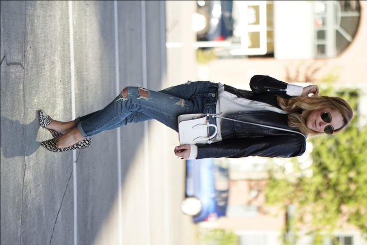 christine cameron wearing strathberry white nano bag 4
