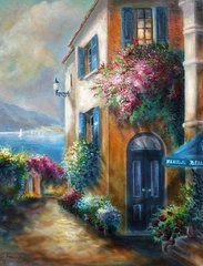 Gina Femrite - Flower shop by the Sea