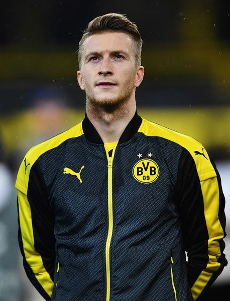 Marco Reus of Dortmund looks on before the UEFA Champions League match between Borussia Dortmund and Legia Warszawa at Signal Iduna Park on November 22, 2016 in Dortmund, North Rhine-Westphalia.
