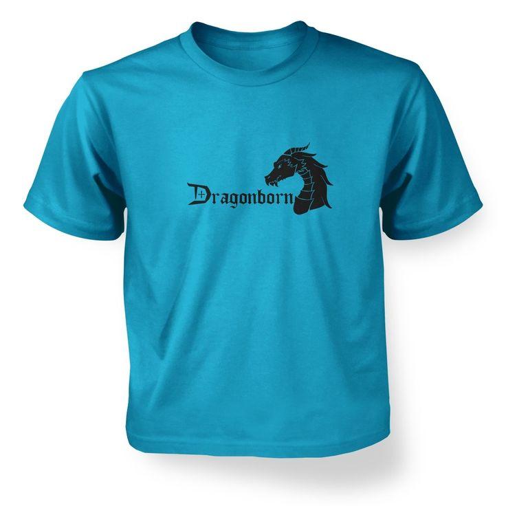 Dragonborn kids t-shirt