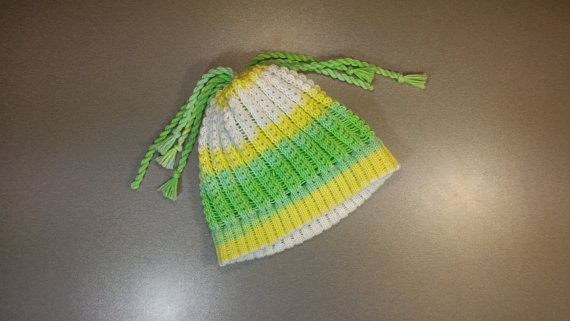 Cotton hand-made hat by LanaNere on Etsy