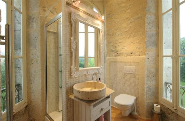Chateau Rental in Laugnac with , - walking, rural retreat, TV, DVD