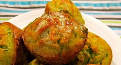 Chef Royale: Muffin courgette et mozzarella