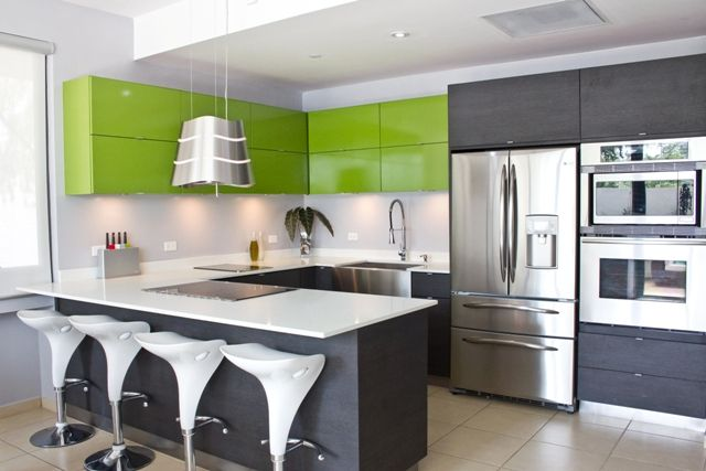 My dream kitchen with the perfect colour combination