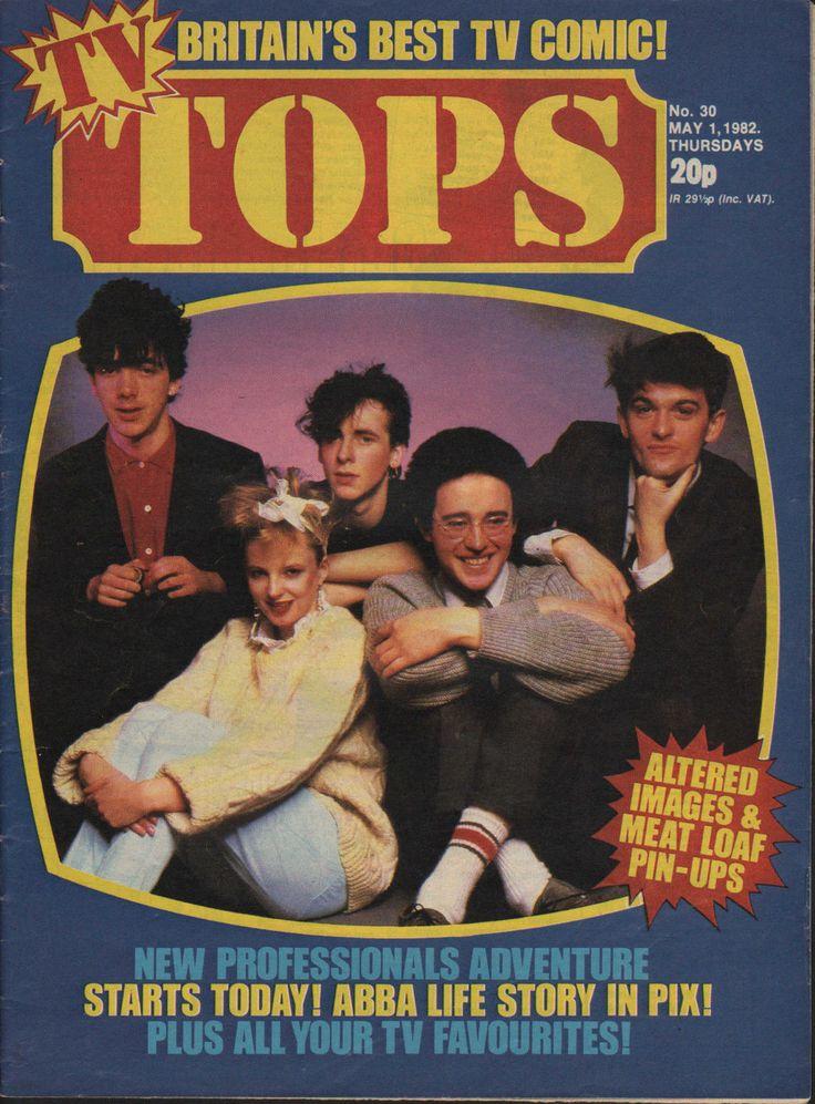 TOPS TV Magazine No.30 1 May 1982 Altered Images Meatloaf Jim Davidson   eBay