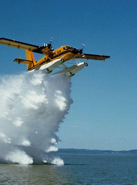 Twin Otter water drop testing #Aviation