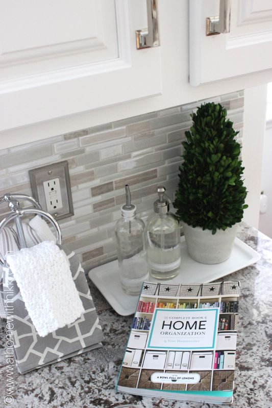 At Home With Nikki-Sink Area