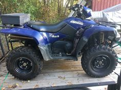 Used 2011 Suzuki KINGQUAD 750AXI POWER STEERING ATVs For Sale in Virginia. 2011 king quad 750 with power steering has front brush guard winch and box on back to carry stuff only 883 miles and 135 hours has almost new tires, and new drive belt . Blue in color and runs great !