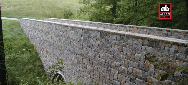 Retaining Wall Block With Pins : Best images about retaining walls on
