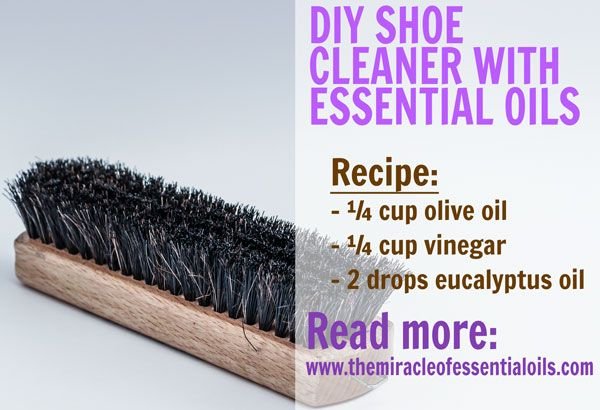 Yup, you can make your leather shoes shine naturally! Use this DIY leather shoe cleaner with essential oils and see how!