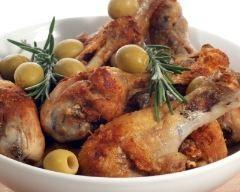 Cuisses de canard aux olives