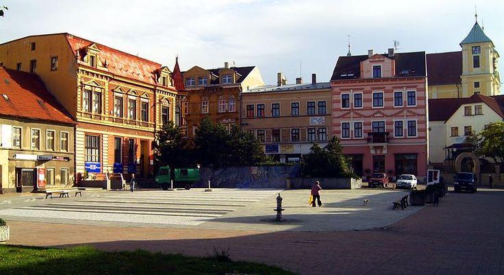 Litvínov ,Mírové náměstí