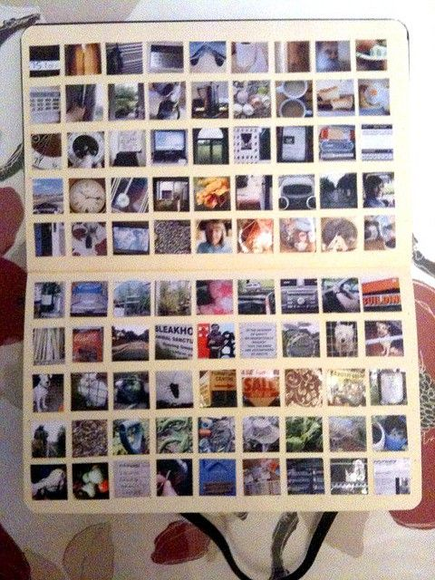 look at that lay out, if only i could figure out how to print instagram images smaller... gorgeous to look at.