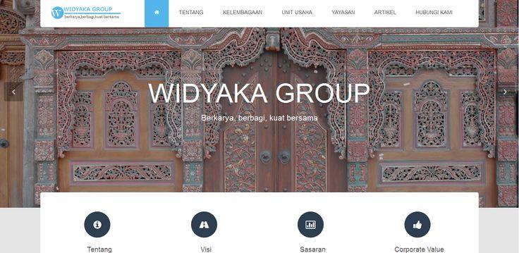 Widyaka Group adalah perusahaan yang berfokus pada Pengembangan Property, penyediaan jasa Kontraktor dan Keuangan Syariah. Tikanesia membantu Jasa Pembuatan Web Widyaka Group.