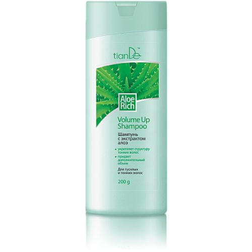 Aloe Rich Volume Up Shampoo, 200g