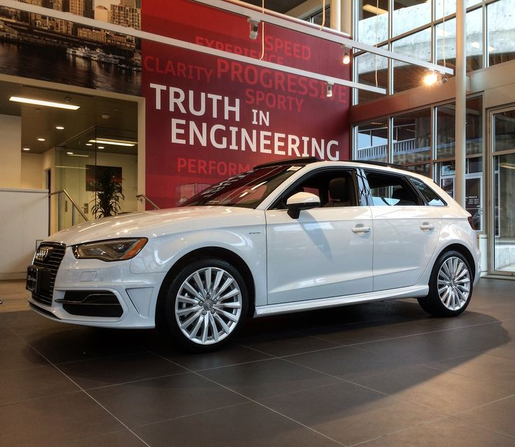 ⚡️Glacier White #Audi #A3 #Etron / #Seattle #AudiSeattle
