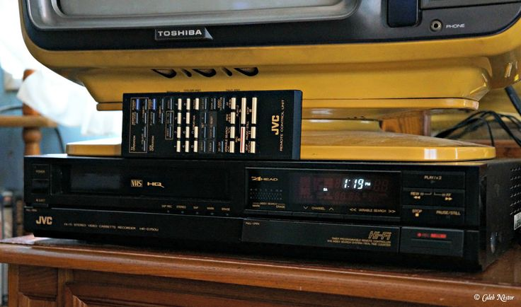 Jvc Hi-fi Video Cassette Recorder Hr-d750u