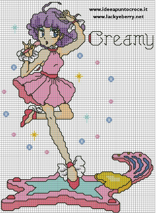 CREAMY PUNTO CROCE by syra1974.deviantart.com on @deviantART