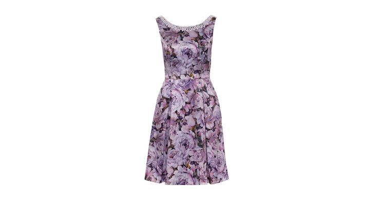 Review Australia   Duchess Fit & Flare Dress in Floral Multi