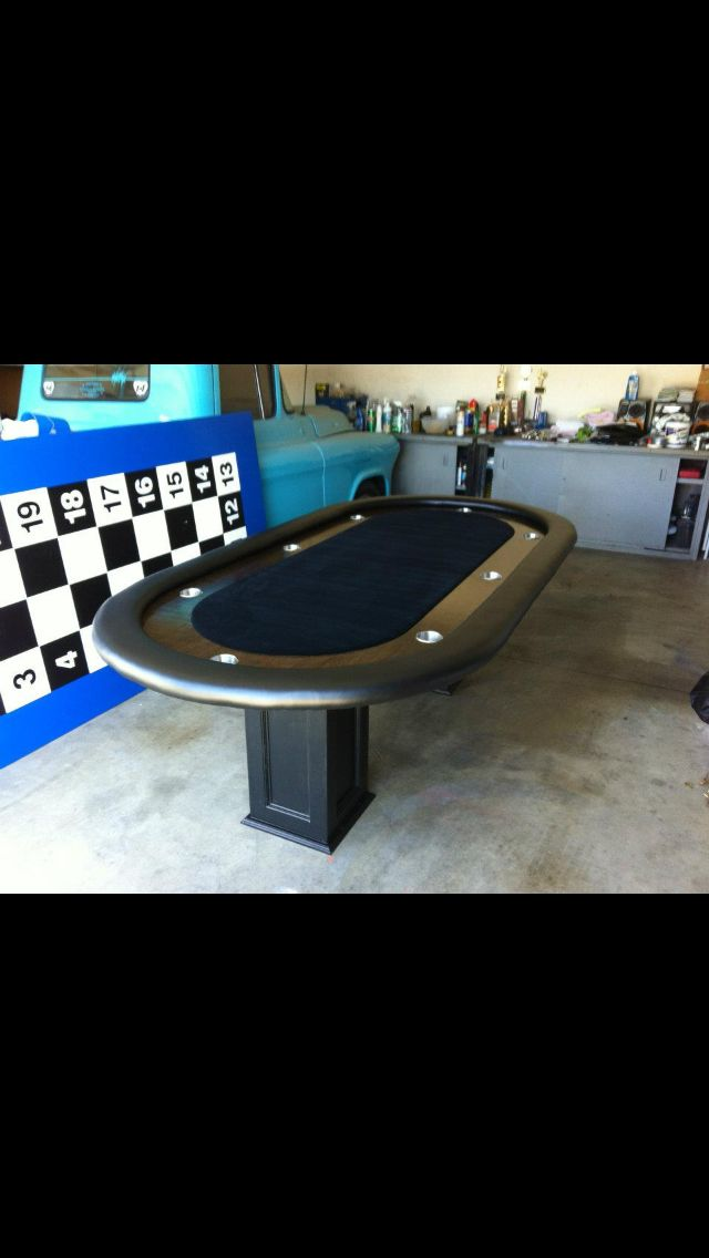 DIY poker table | Poker table | Pinterest | DIY and crafts ...