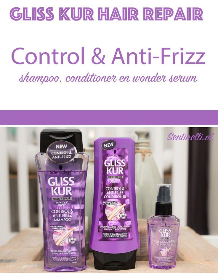Gliss Kur Hair Repair Control & Anti-Frizz shampoo, conditioner en wonder serum. Al een behoorlijke tijd ben ik op zoek naar producten dat mijn pluis onder controle kan houden. Mijn haar is de laatste tijd namelijk ontzettend aan het pluizen. Voor mijn zwangerschap was het al erg, maar nu helemaal erg. Werken deze producten tegen mijn pluizig haar? In dit artikel vertel ik meer over deze producten en laat ik het resultaat zien.