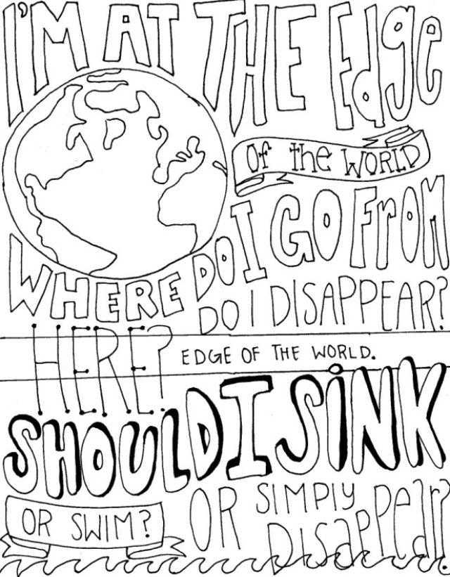 Im At The Edge Of World Where Do I Go