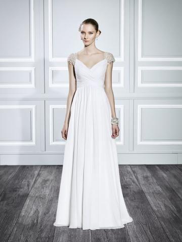 Srdíčko Jaro Zip Svatební šaty 2015
