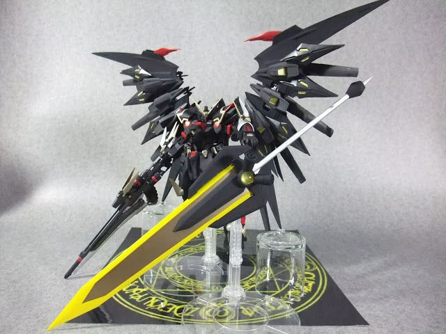 1/100 Gundam Wing Bardiche Custom – Custom Build : 1/100 Gundam Wing Bardiche Custom – Custom Build Modeled by blandon Amazon.com Widgets