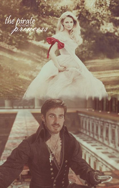 Captain Swan, a bit reminiscent of Princess Bride and I like it!