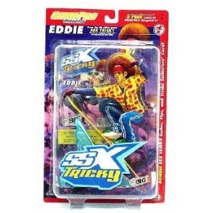 EDDIE from the hit EA SPORTS video game SSX TRICKY Series 1 Game Pro * 7 INCH * Action Figure & Snowboard (Toy)  http://digifree.ihoste.com/cool/pins.php?p=B00698D568  B00698D568