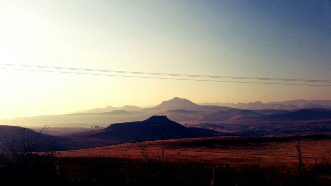 That morning mountain