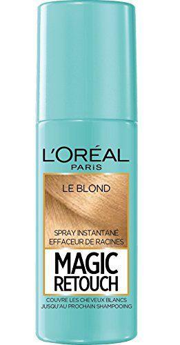 L'Oréal Paris Magic Retouch Spray Retouche Racine Instantané Blond 75 ml: Tweet MAGIC RETOUCH – SPRAY RACINES La repousse de vos racines…