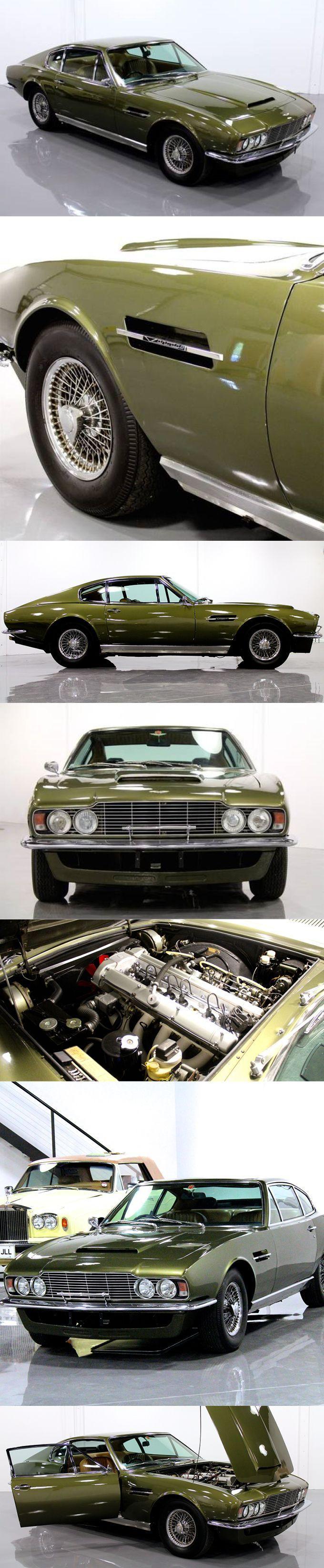Cool Aston Martin 2017 - 1970 Aston Martin DBS Vantage / 325hp 4.0l L6 / William Towns / UK / green / Wil...