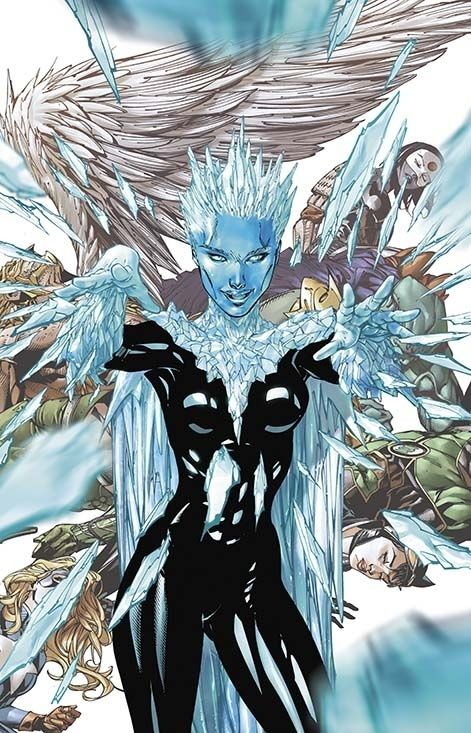 Killer Frost on Justice League of America #7.2   All 52 DC Villain Month Covers