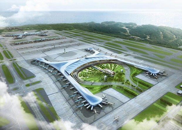 Aeroporto mais verde do mundo vai se transformar em cidade sustentável