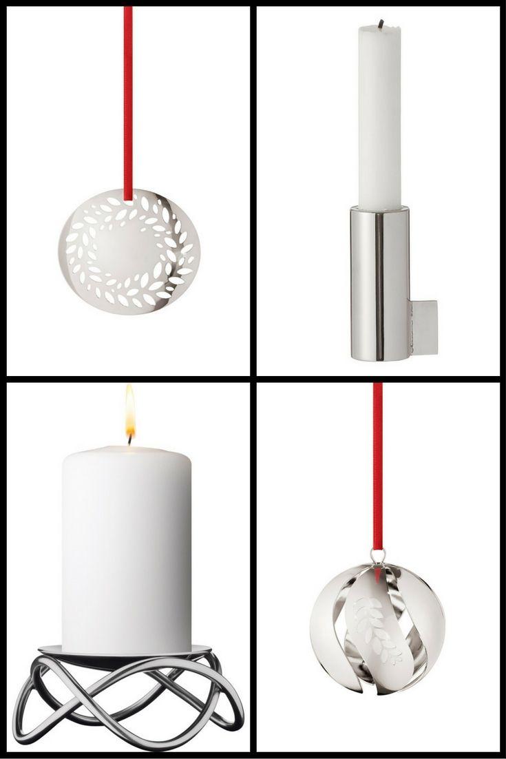 Zilveren Scandinavische kerstversiering - De mooiste Scandinavische kerst accessoires