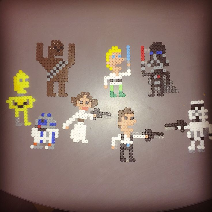 Hamabeads Star Wars.