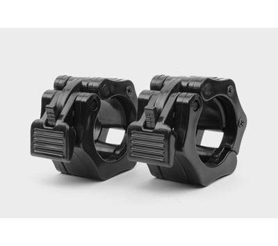 Easy Lock Collars (Pr) specially designed for power lifting workouts where bar is not dropped. Easy release with one hand when changing weights http://www.calibrefitness.com.au/weights-barbells-dumbbells-kettlebells/barbellcollarsaccessories/580-easy-lock-collars-pr