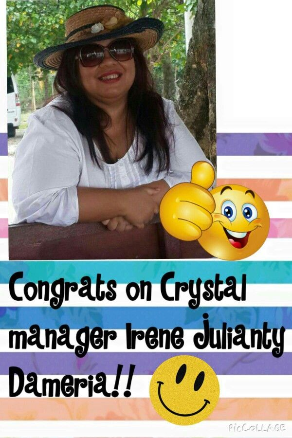 Within a month got Crystal Manager.. me+2 and them+2..  http://Irenekesaulya.isagenix.com