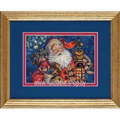 Набор для вышивки крестом Dimensions Ночной Санта 70-08865. РАСПРОДАЖА