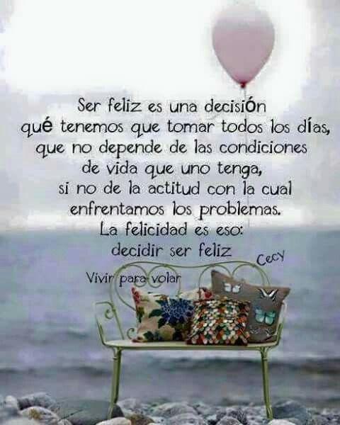 Afbeeldingsresultaat voor vivir para volar, ser feliz es una decision que