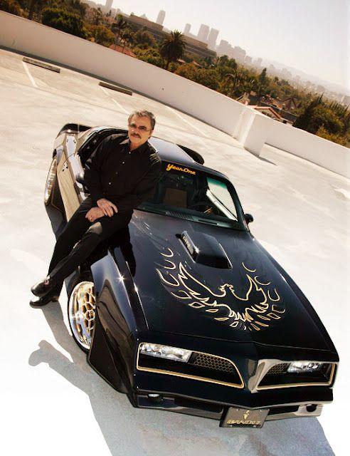 Burt Reynolds and his #pontiac #firebird from Smokey and the bandit