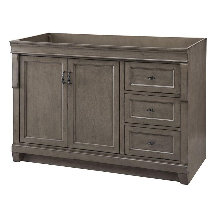 48 Vanity With Left Side Drawers