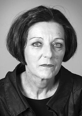 """Herta Muller - Nobel Prize in Literature 2009 - born Romania, residence at time of award Germany - """"who, with the concentration of poetry and the frankness of prose, depicts the landscape of the dispossessed"""""""