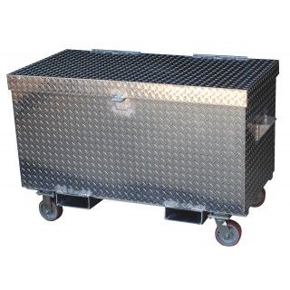Vestil APTS 3648 Aluminum Treadplate Portable Tool Box By Vestil | Toolfetch