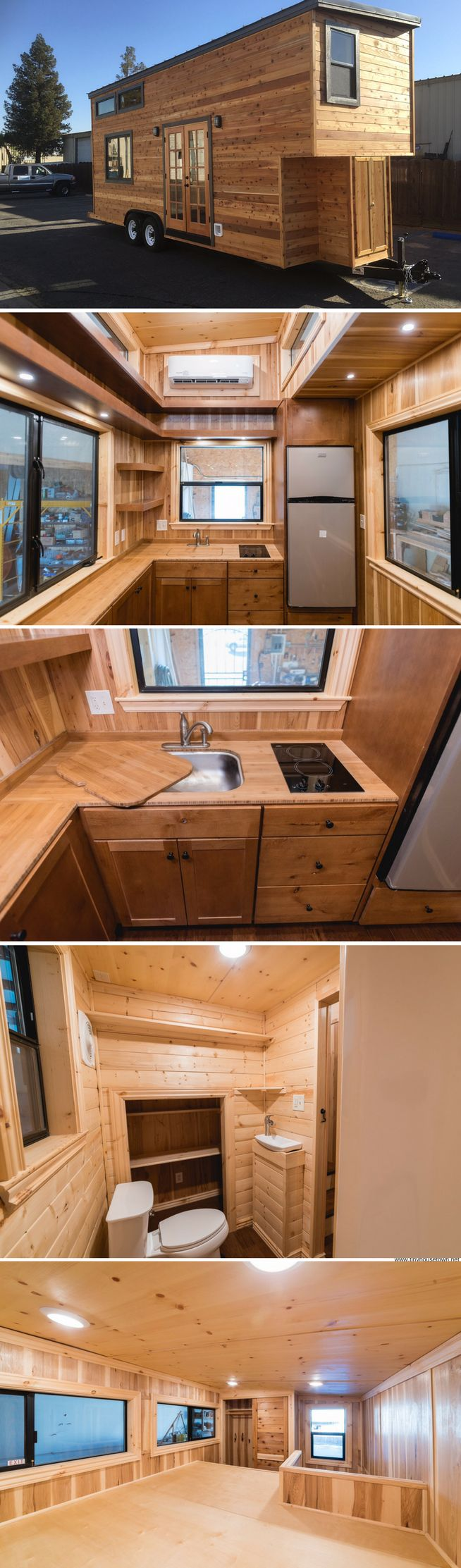 Best Cabin Style Tiny Homes Images On Pinterest Tiny House